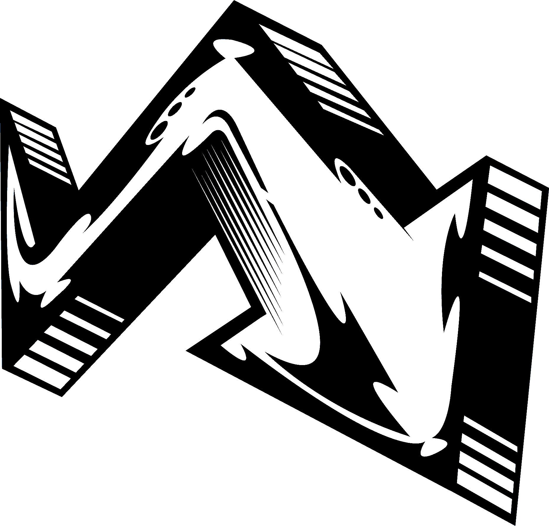 矢印イラストクールな矢印 無料のフリー素材