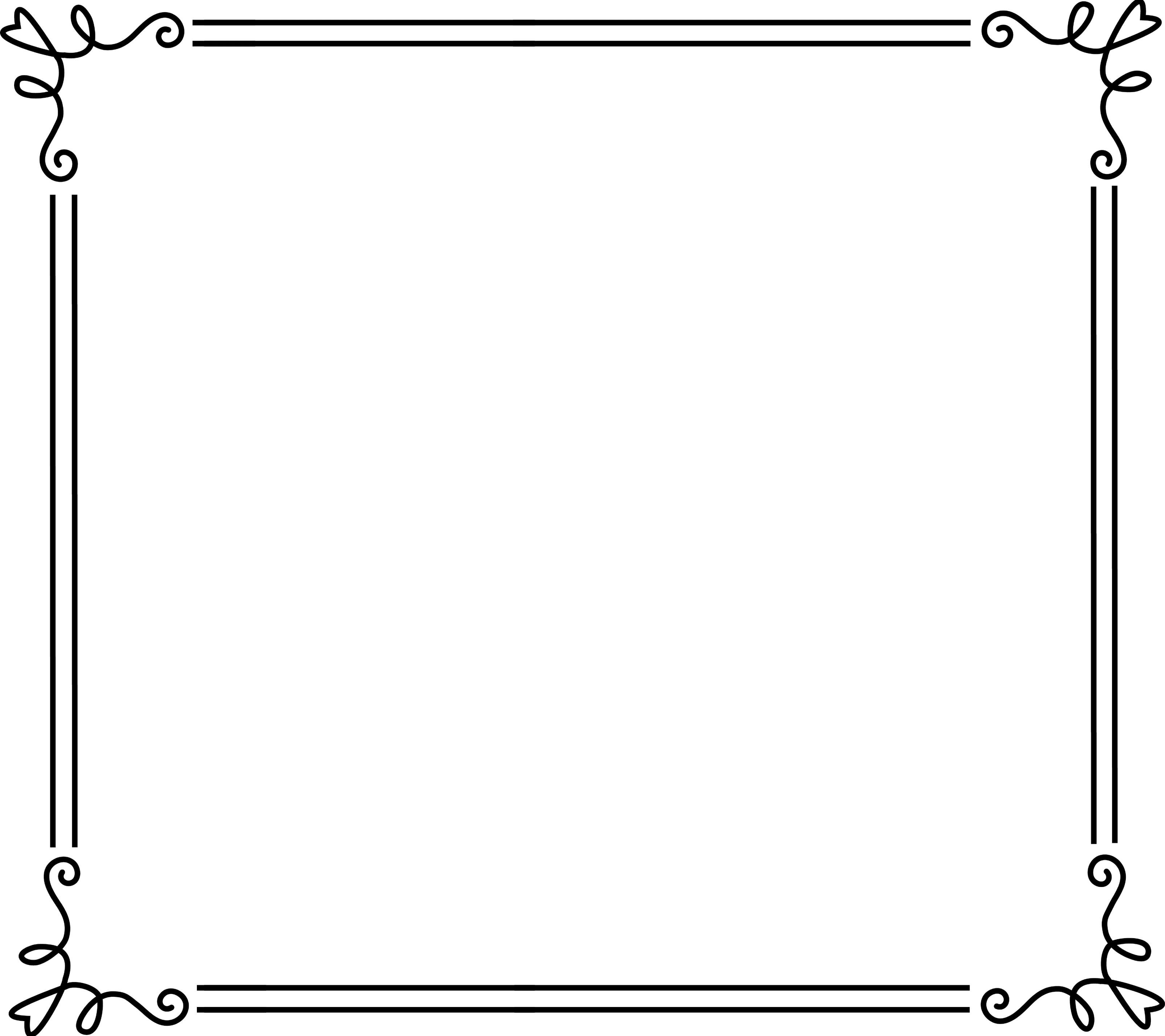 イラスト イラスト枠 無料 ダウンロード : 無料で使える寄せ書きデザイン ...