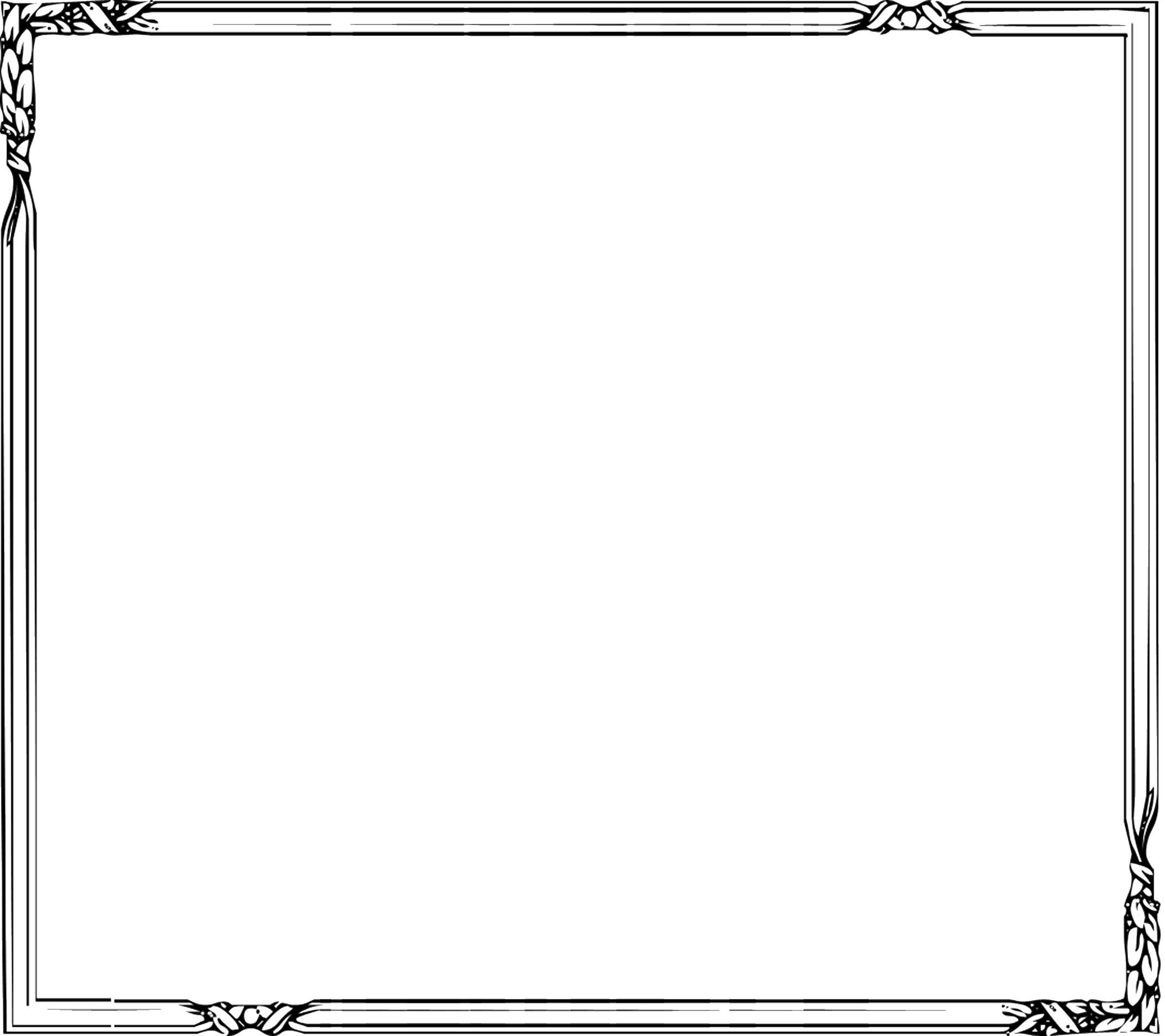 無料のフリー素材 - フレーム枠・タイトル「ねじりフレーム」