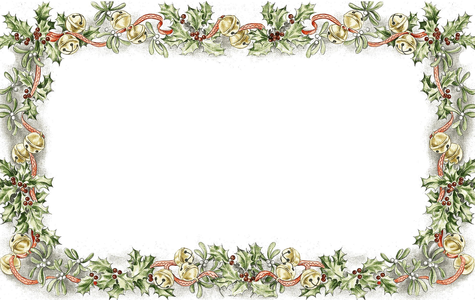 無料のフリー素材 フレーム枠タイトルクリスマスリース