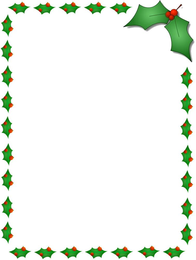 無料のフリー素材 フレーム枠タイトルクリスマスイメージ