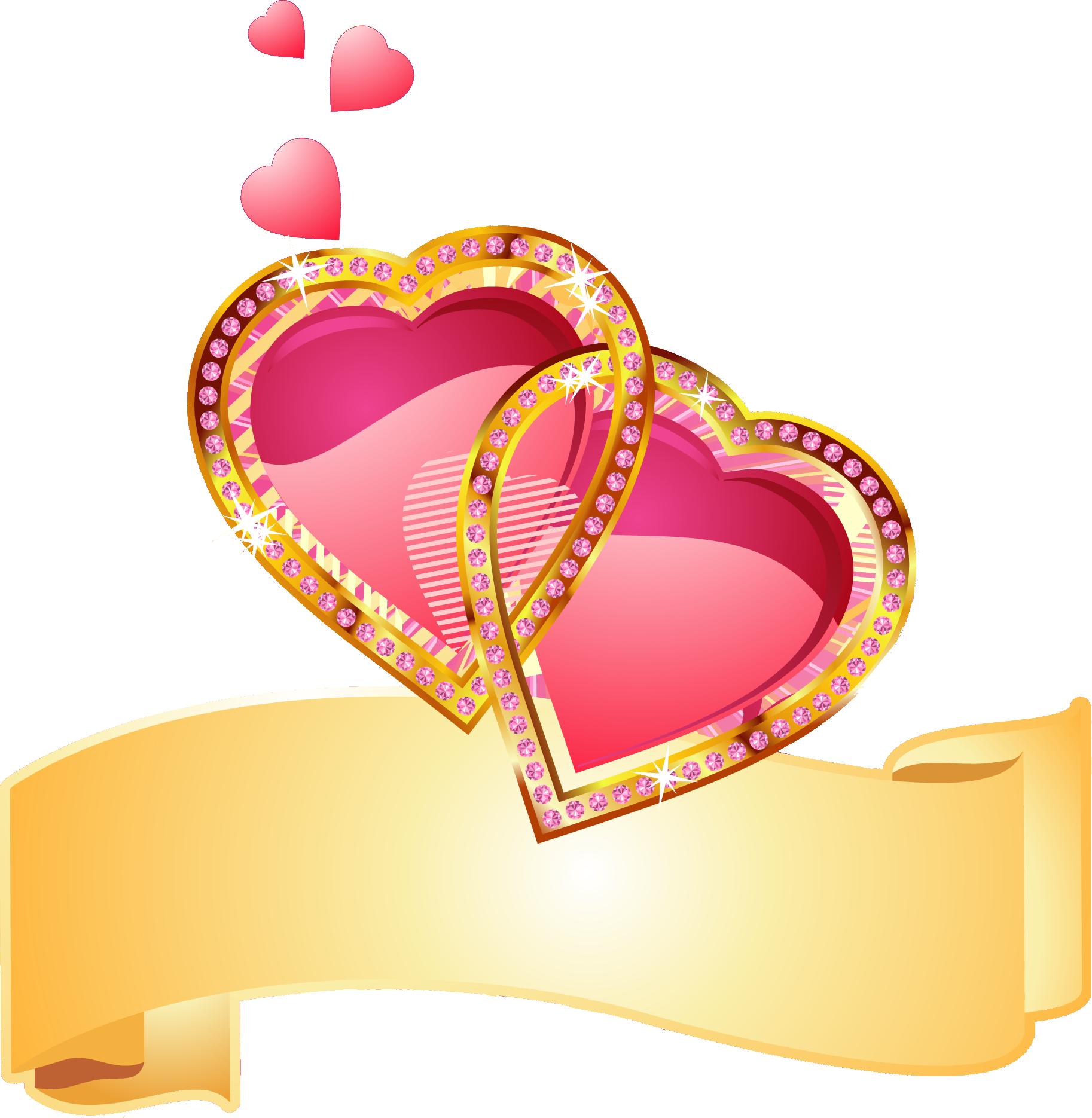 картинки кольца и сердечки развитого кустарникового