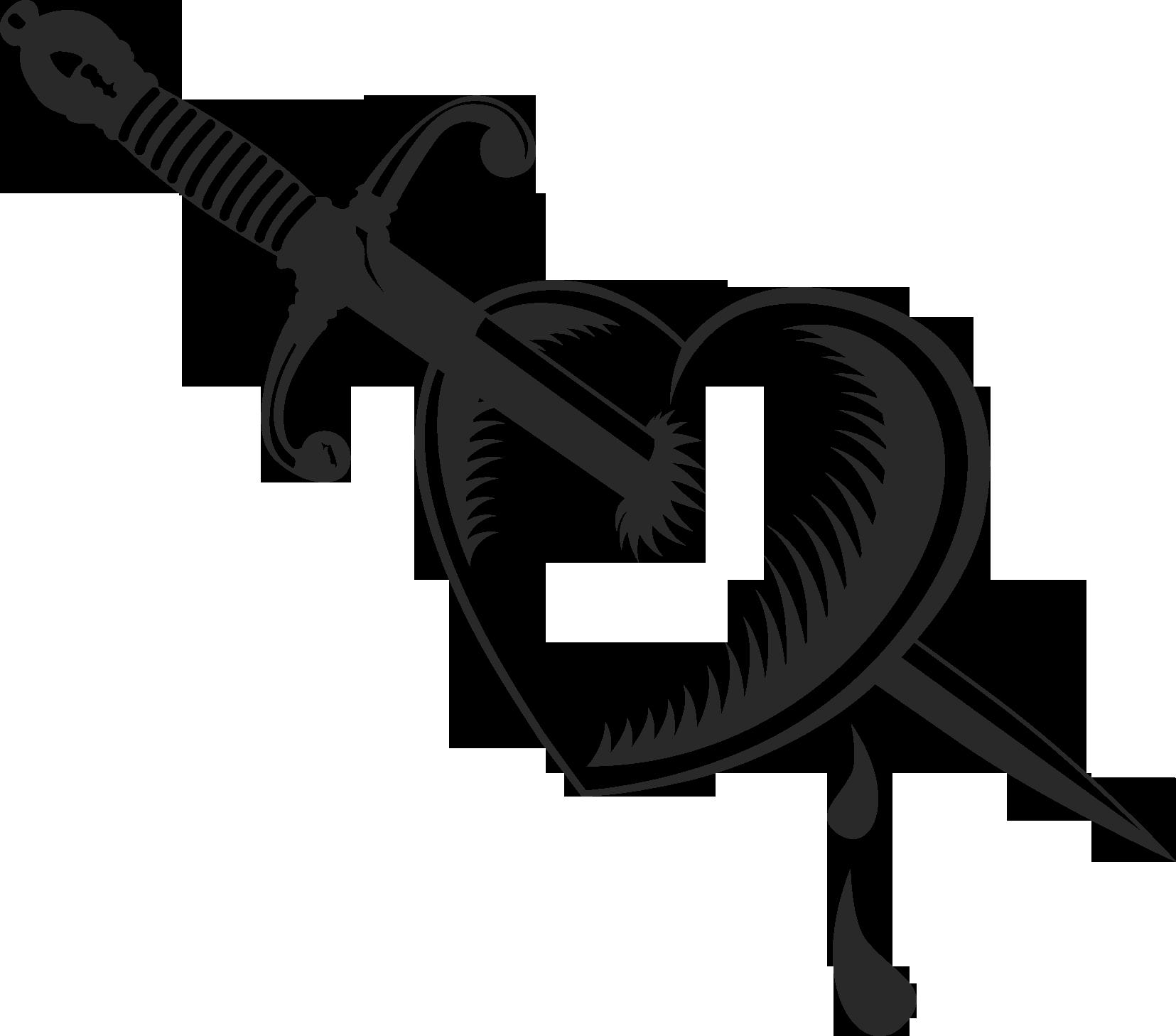 год сердце пронзенное кинжалом картинки чем больше