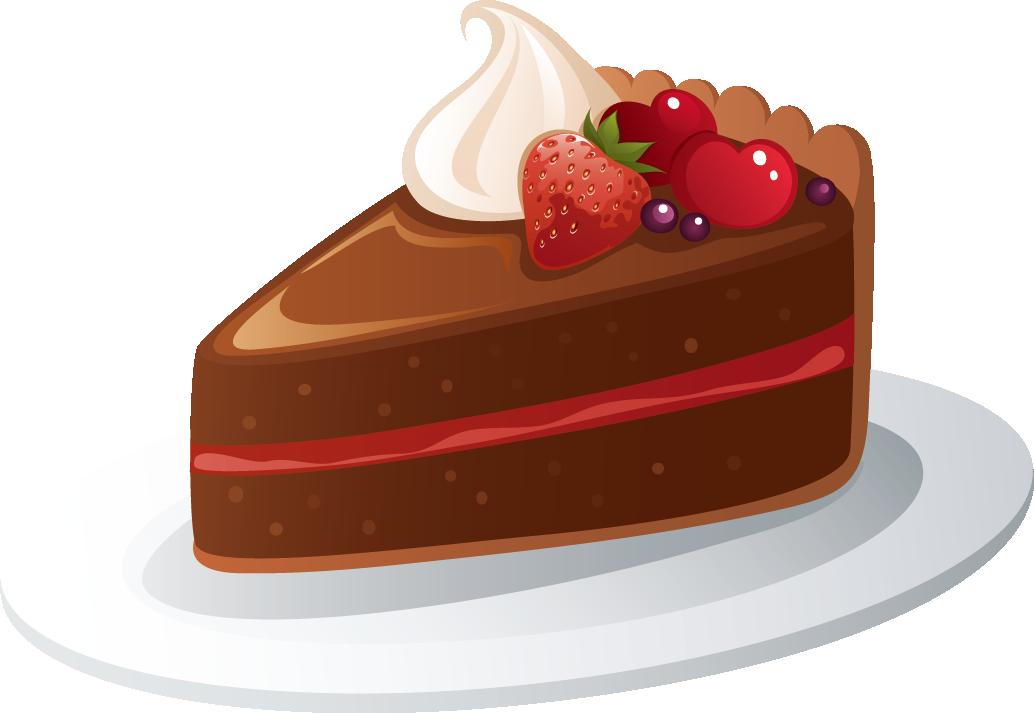 ケーキのイラストno 136『チョコレート』/無料のフリー素材集