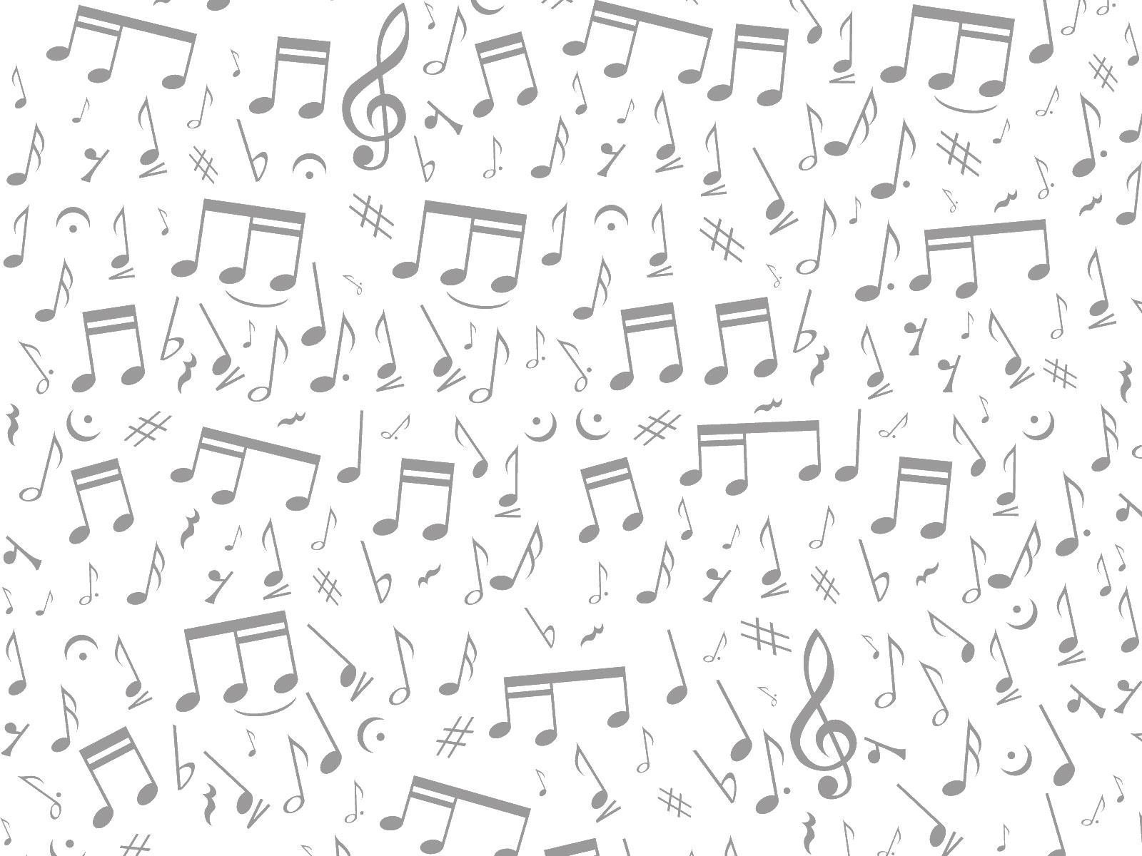 音符イラスト「音符・音楽記号-半透明」- 無料のフリー素材