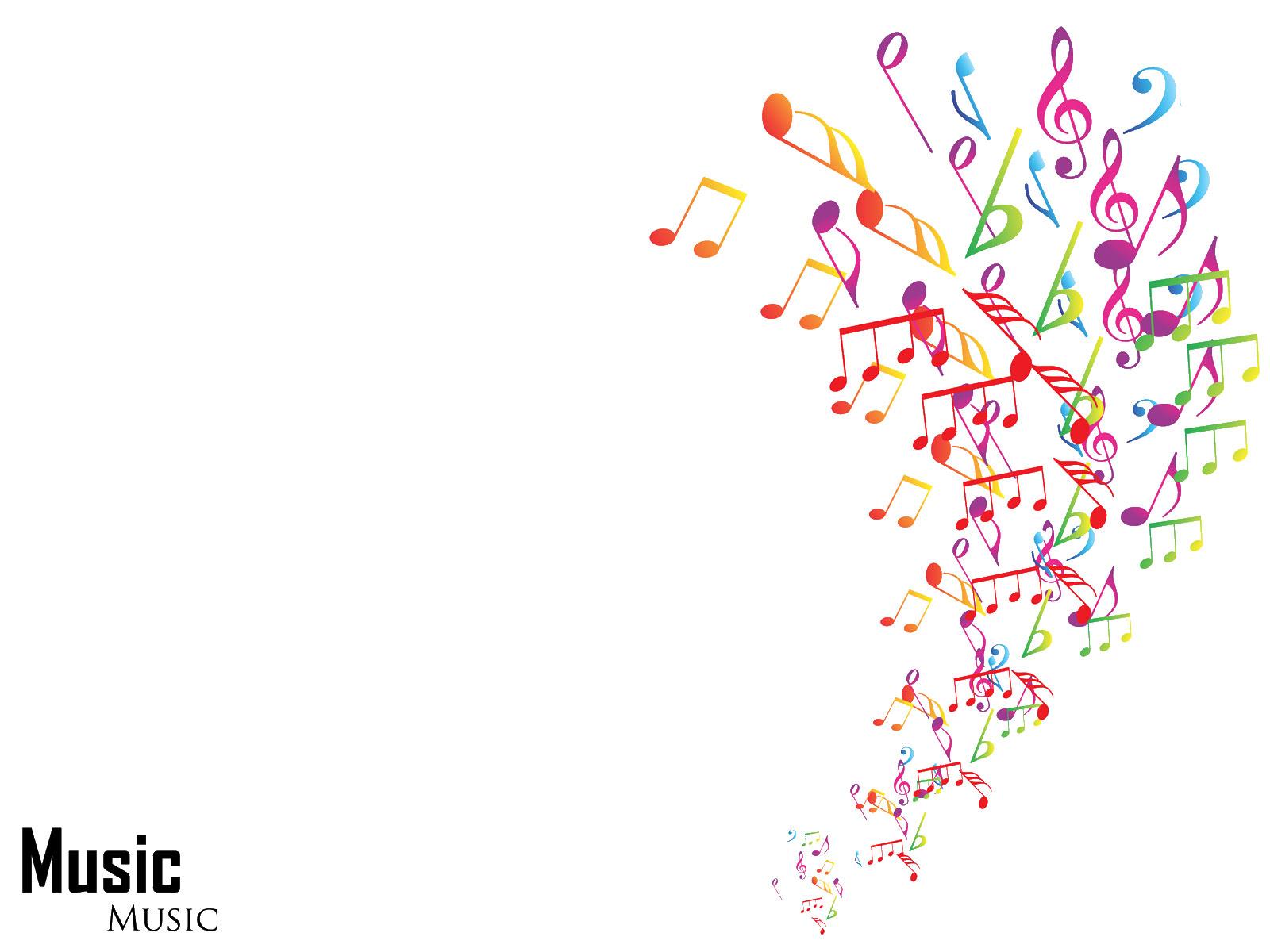 音符イラスト「踊る音符」- 無料のフリー素材