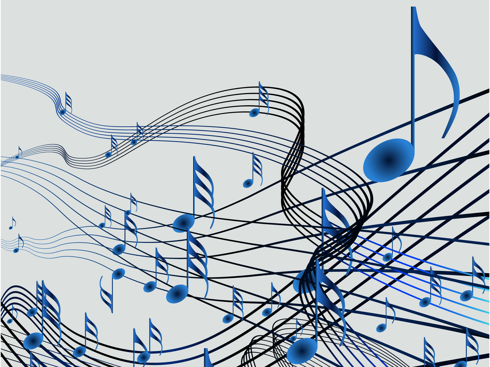 音符イラスト 光の筋 色反転 無料のフリー素材
