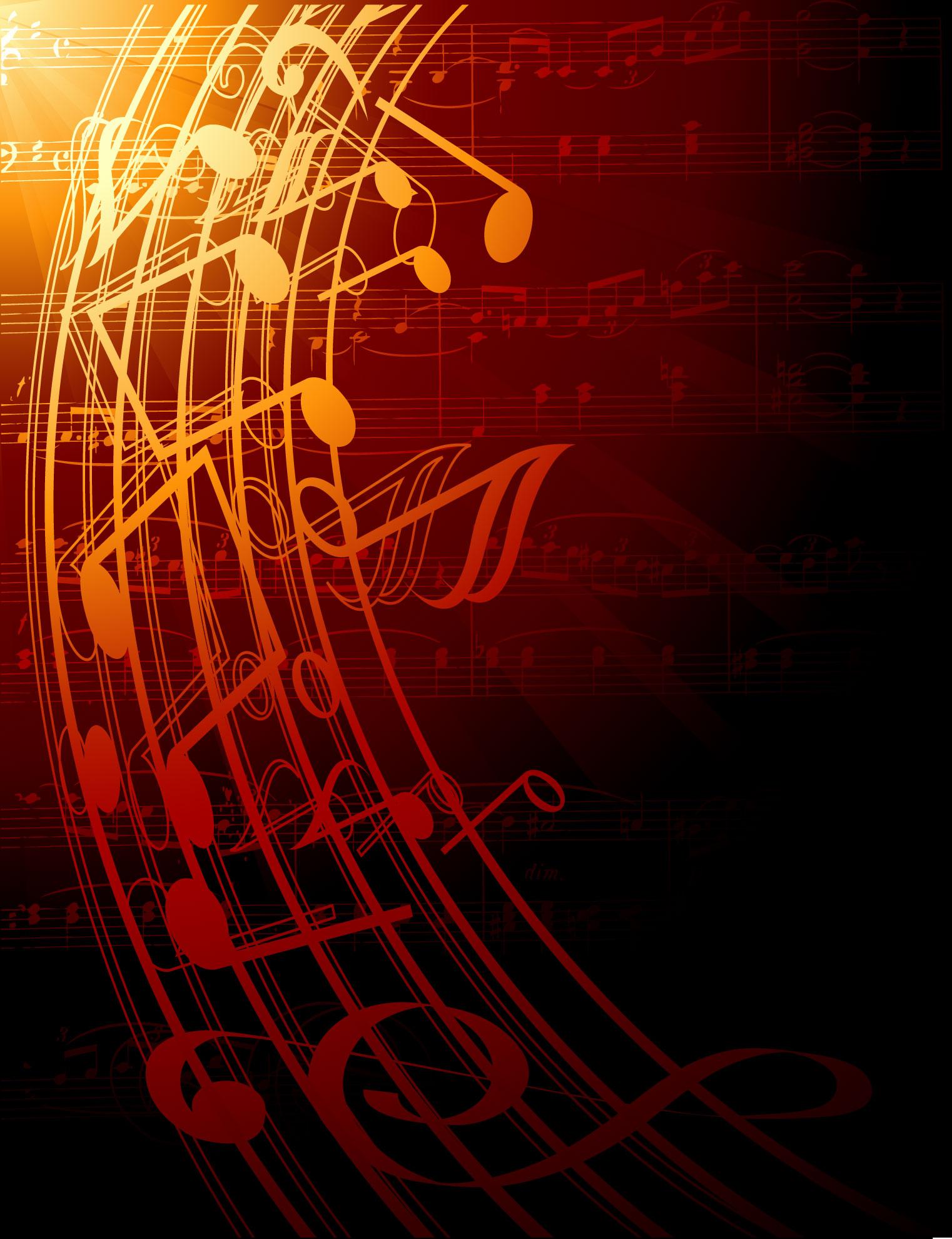 音符イラスト ゴージャスイメージ3 無料のフリー素材