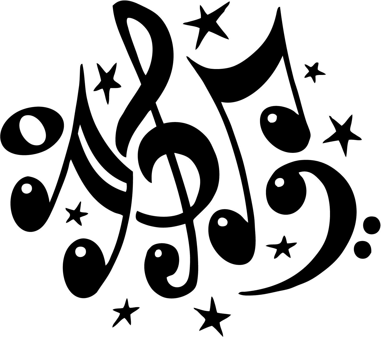 音楽・音符イラスト素材「ポップなイラスト」
