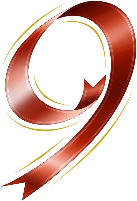 ... 無料素材No.010『赤リボンの数字 : アルファベット表 無料 : 無料