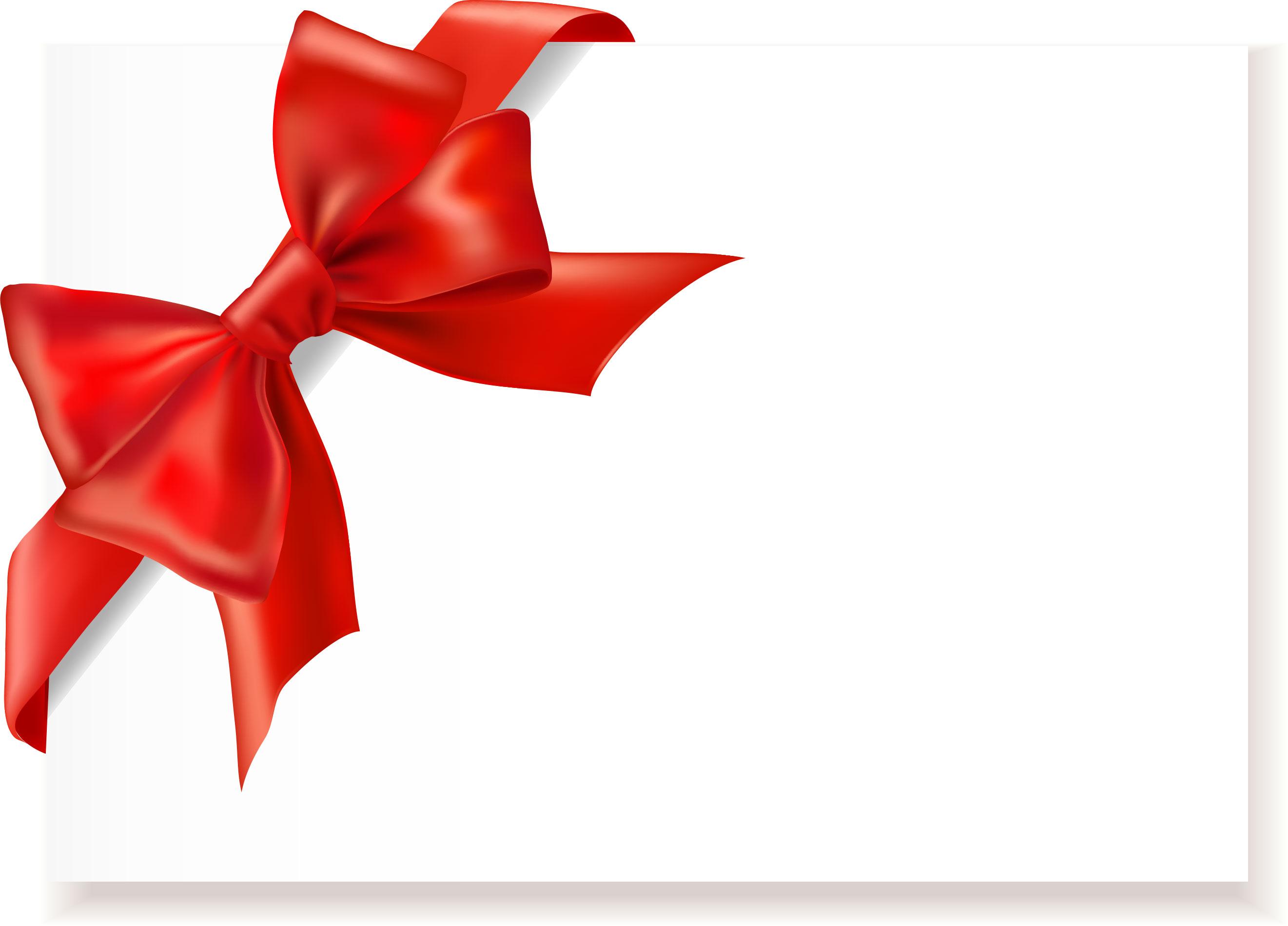 リボンデザインの壁紙・背景/無料素材no.017『赤い蝶結びリボン』