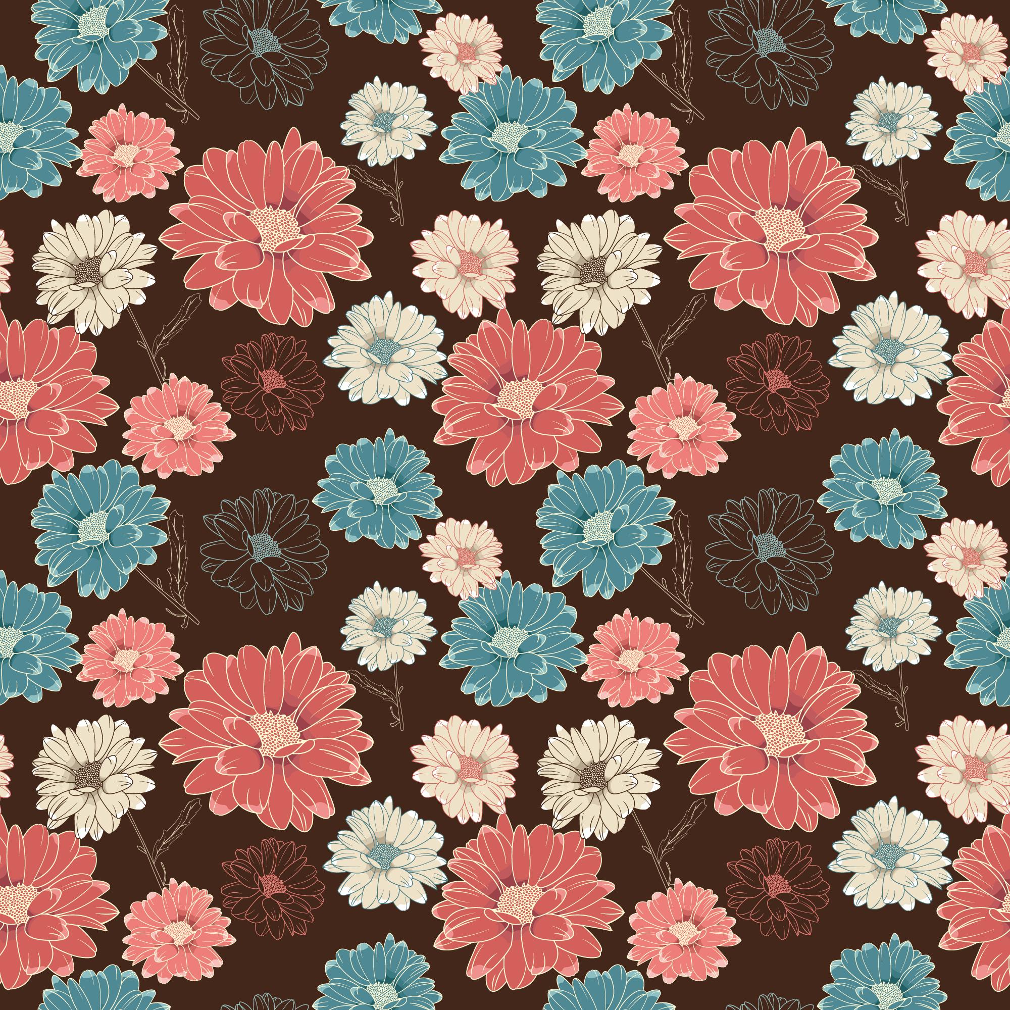 秋のイラストno177菊の花 壁紙無料のフリー素材集花鳥風月