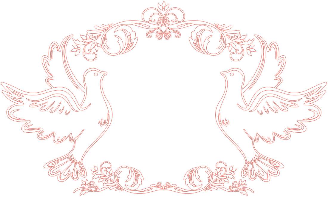 Pin 挙式 結婚式イラスト フリー ... : フォトフレーム 素材 無料 : 無料