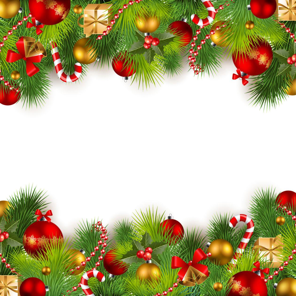 クリスマスのイラストno 226 壁紙 装飾フレーム 無料のフリー素材集 花鳥風月