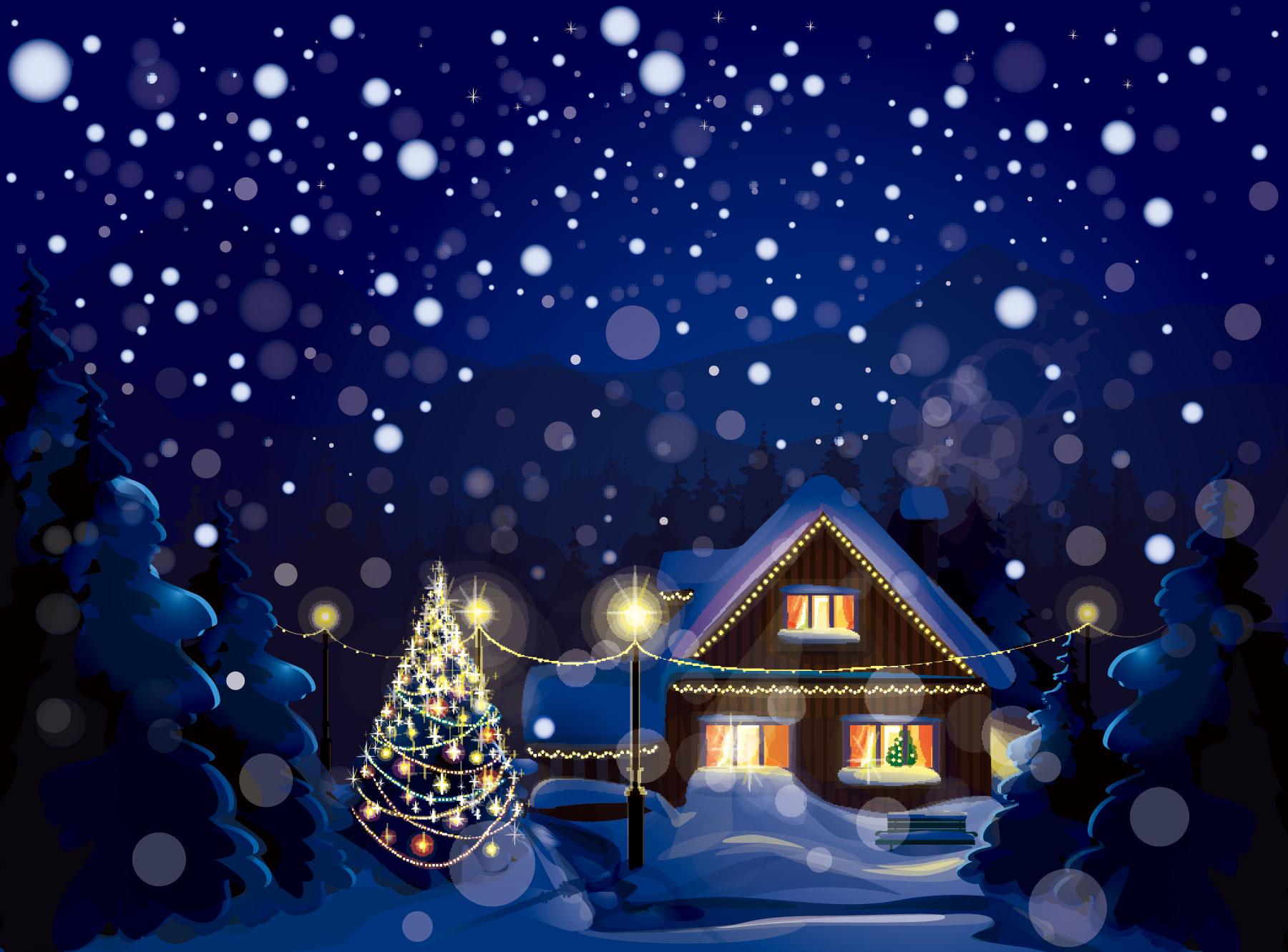 素敵なクリスマスイラスト集壁紙 Naver まとめ