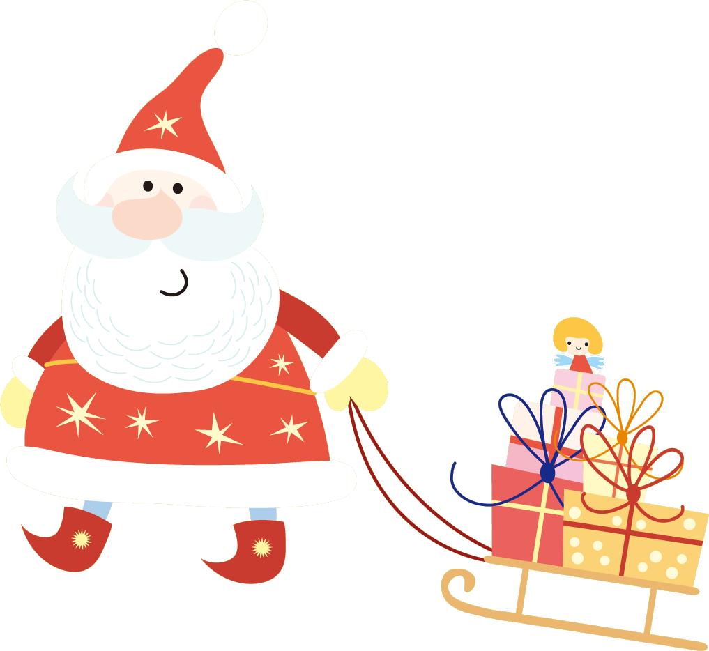サンタクロースとプレゼント