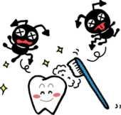 6月の無料デザイン画像,虫歯予防デー