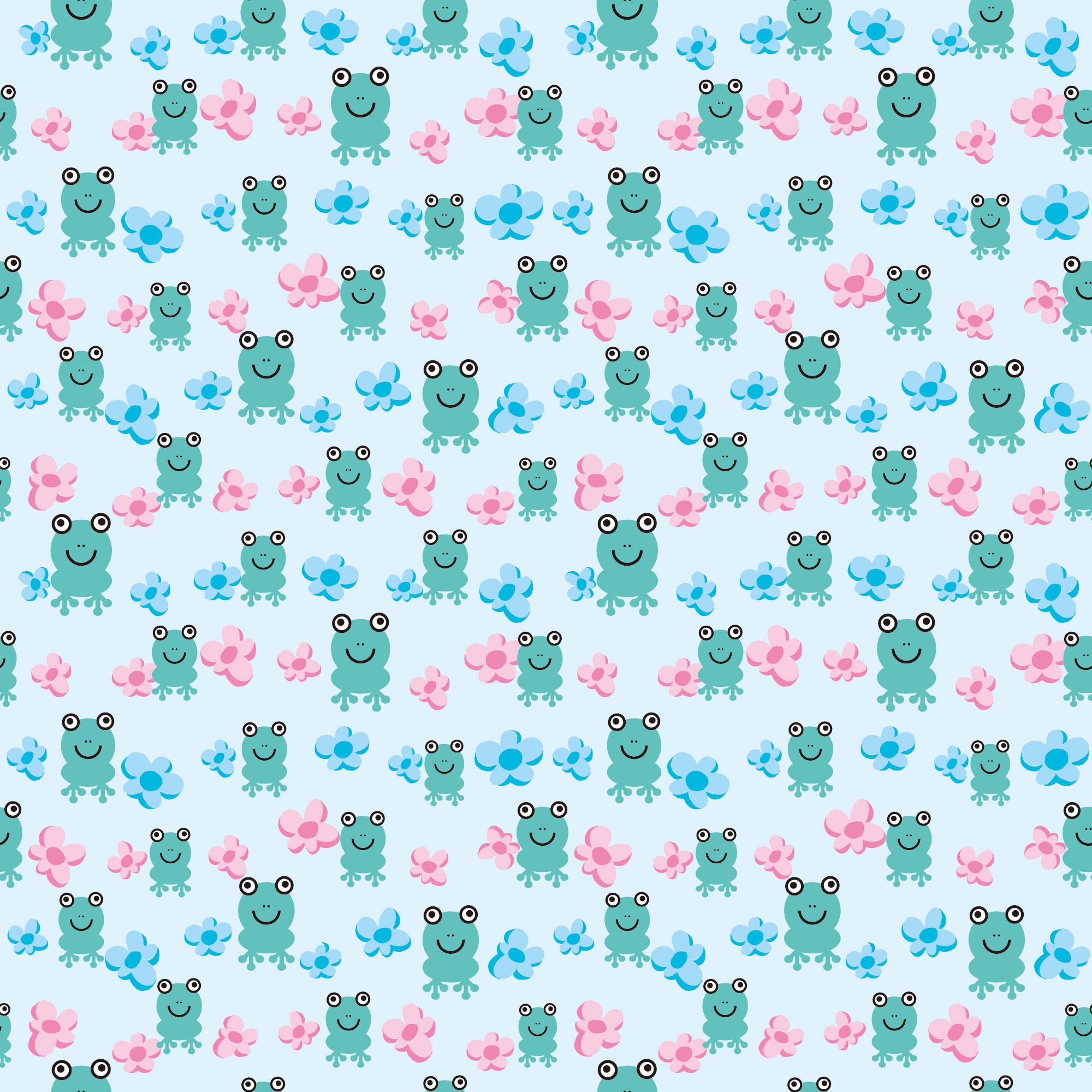 6月のイラストno 017 カエルの壁紙 無料のフリー素材集 花鳥風月