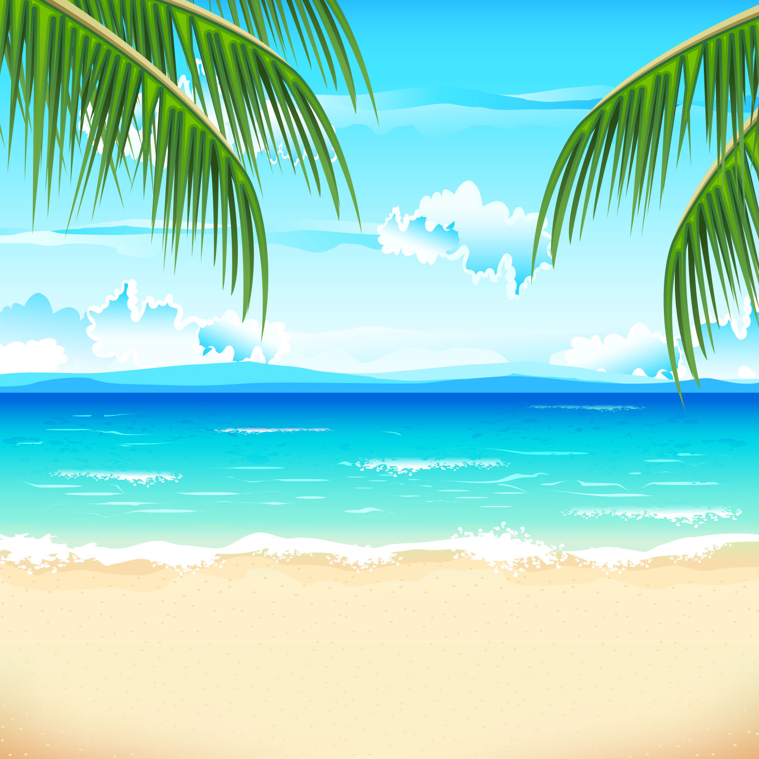 coloring pages free summer wallpaper - photo#35
