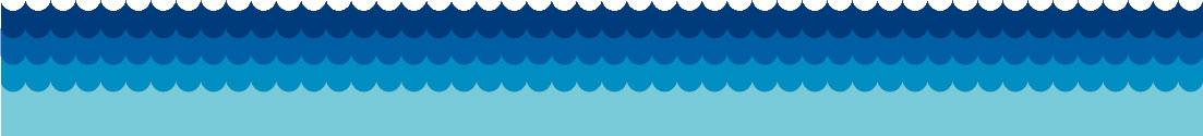 夏の画像サンプル-ライン-波