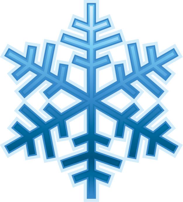 冬の画像サンプル-雪の結晶