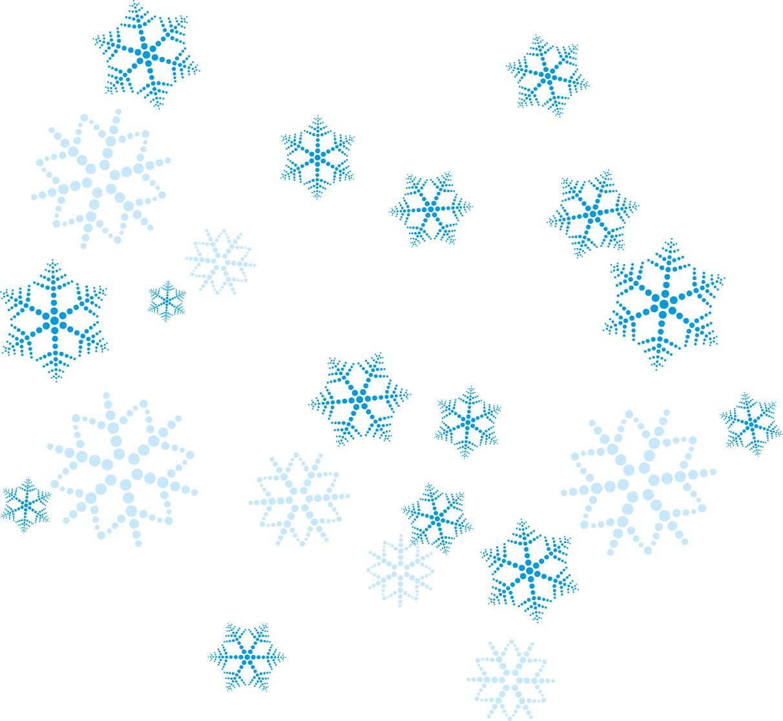 フリー素材_冬画像サンプル,複数・舞い散る