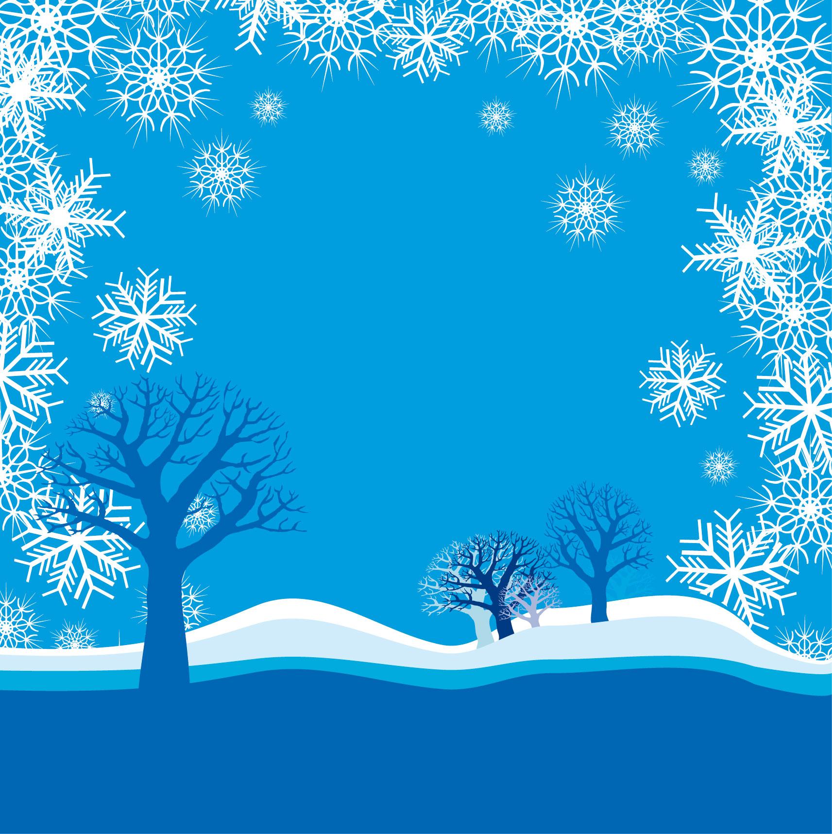 冬の画像サンプル-雪山・結晶