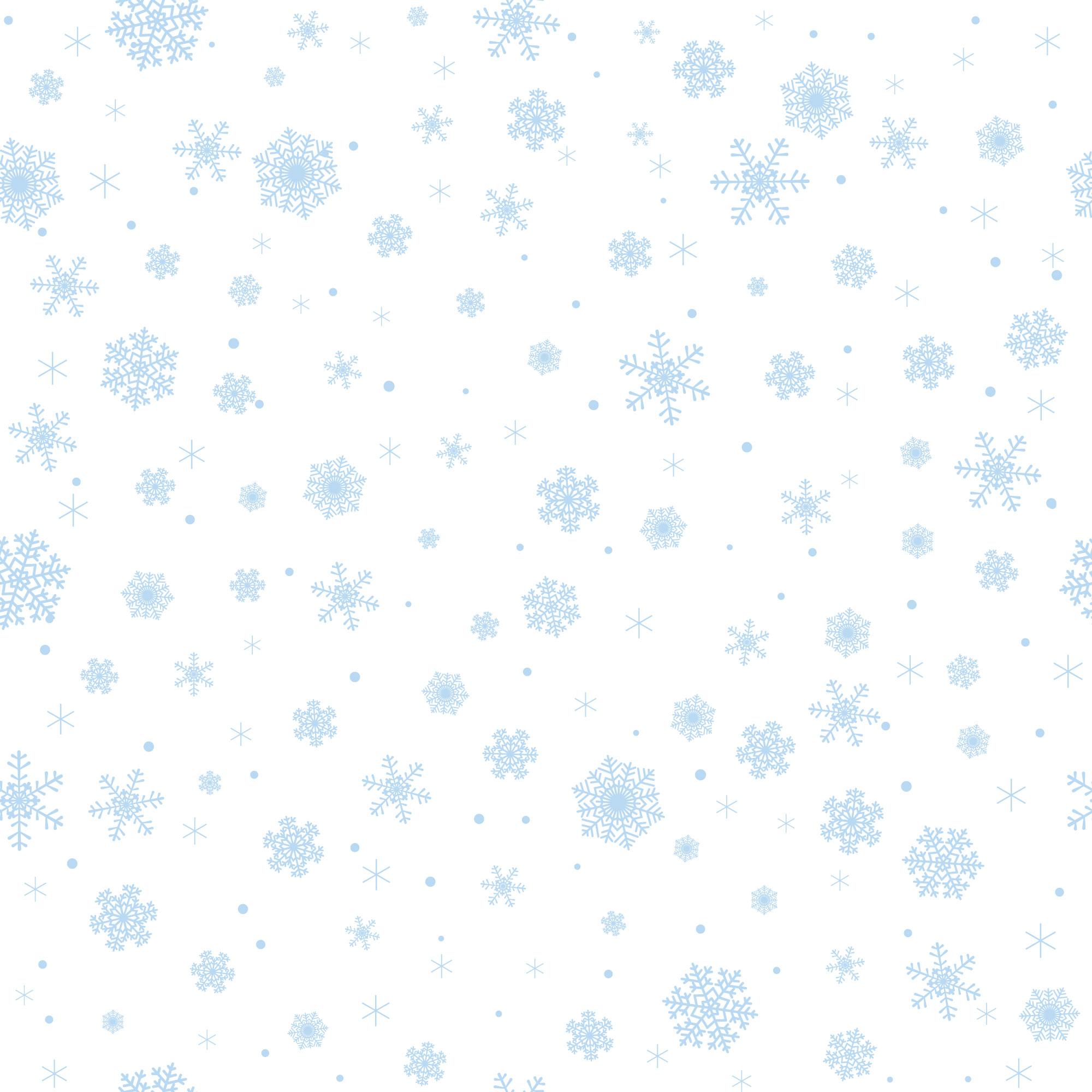 冬のイラストno.229『雪の結晶パターン』/無料のフリー素材集【花鳥風月】