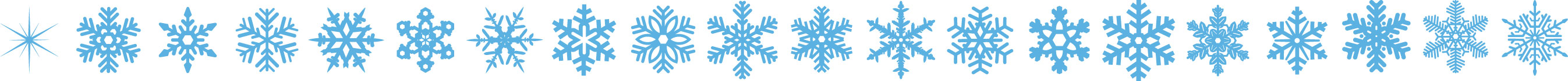 冬の画像サンプル-結晶のライン